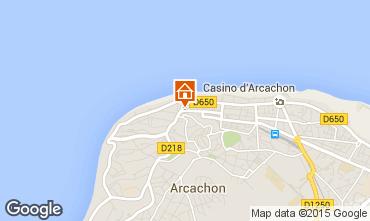 Kaart Arcachon Appartement 61328