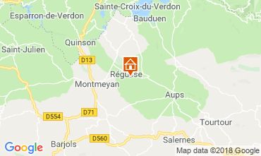 Kaart Régusse Villa 116818