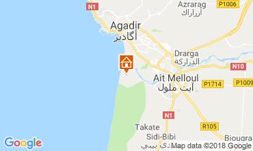 Kaart Agadir Bijzondere woning 117445