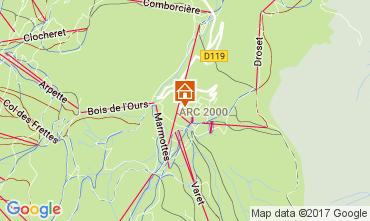 Kaart Les Arcs Appartement 80738