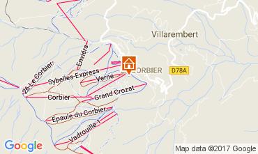 Kaart Le Corbier Studio 102014