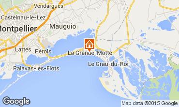 Kaart La Grande Motte Studio 97785