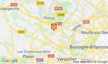 Kaart Saint-Germain-en-Laye Huis 119509