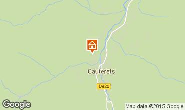 Kaart Cauterets Appartement 4090