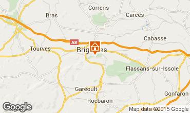 Kaart Brignoles Appartement 83625