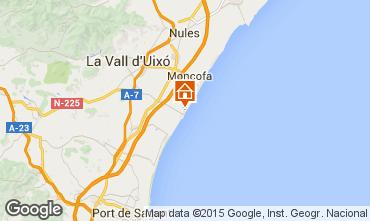 Kaart Valencia Appartement 60533