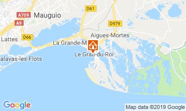 Kaart Le Grau du Roi Appartement 117984
