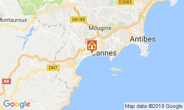 Kaart Cannes Appartement 68698
