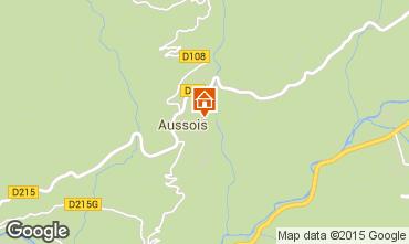 Kaart Aussois Appartement 61857