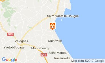Kaart Saint Vaast la Hougue Huis 110426