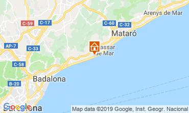 Kaart Barcelona Appartement 117575