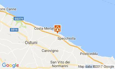Kaart Ostuni Villa 101654