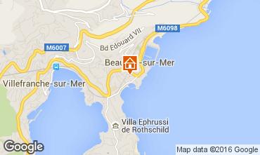Kaart Beaulieu sur Mer Appartement 102978