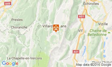Kaart Villard de Lans - Corrençon en Vercors Studio 74588