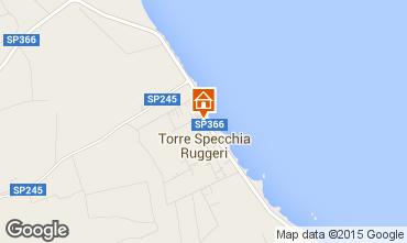 Kaart San Foca Villa 85195