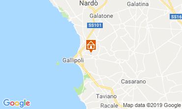 Kaart Gallipoli Villa 118430
