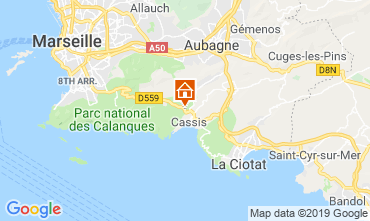 Kaart Cassis Villa 118042