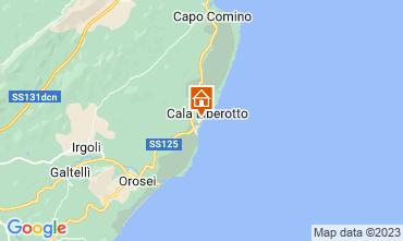 Kaart Cala Liberotto Appartement 16510