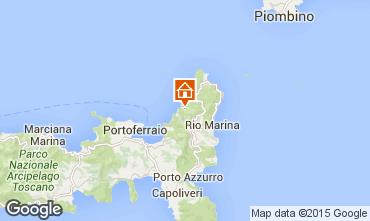 Kaart Rio nell'Elba Appartement 77662
