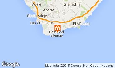 Kaart Costa del Silencio Appartement 66629