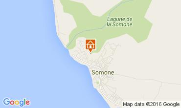 Kaart La Somone Villa 105357