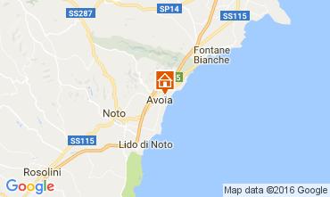 Kaart Avola Villa 75699