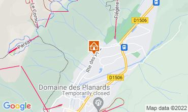 Kaart Chamonix Mont-Blanc Chalet 88059