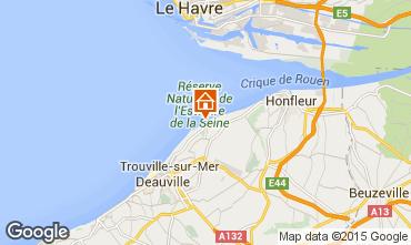 Kaart Deauville Appartement 67305