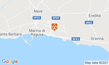 Kaart Marina di Ragusa Studio 118644