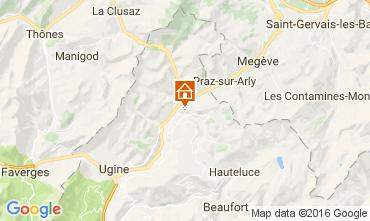 Kaart Notre Dame de Bellecombe Appartement 107301