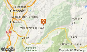 Kaart Chamrousse Chalet 88811