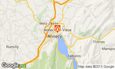 Kaart Annecy Appartement 94359