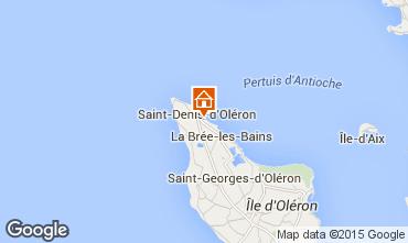 Kaart Saint Denis d'Oléron Villa 80154