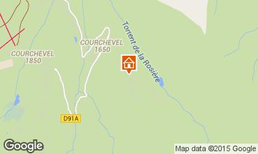 Kaart Courchevel Appartement 80359