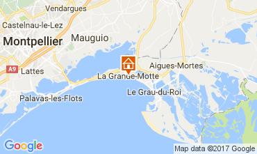 Kaart La Grande Motte Appartement 111473