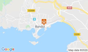 Kaart Bandol Studio 40335