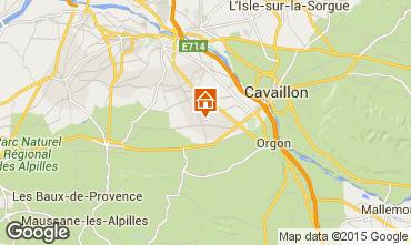 Kaart Saint Rémy de Provence Vakantiehuis 11846