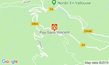 Kaart Puy Saint Vincent Appartement 92347