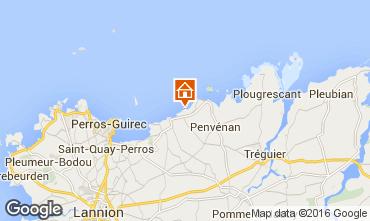 Kaart Perros-Guirec Huis 96940