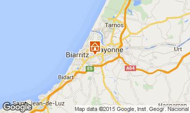 Kaart Biarritz Appartement 97209