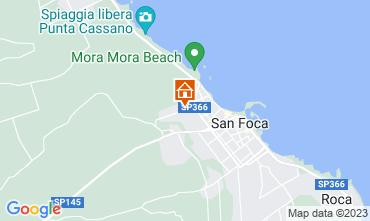 Kaart San Foca Appartement 108902