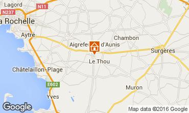 Kaart La Rochelle Huis 102517