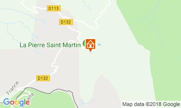 Kaart Arette La Pierre Saint Martin Studio 117026