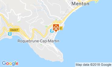 Kaart Menton Appartement 117152