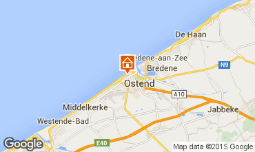 Kaart Oostende Appartement 101727