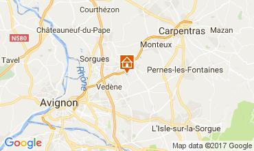 Kaart Avignon Vakantiehuis 109438
