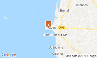 Kaart Granville Appartement 10716