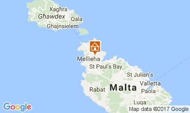 Kaart Mellieha Villa 31305