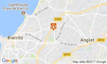 Kaart Biarritz Huis 105500