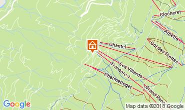 Kaart Les Arcs Appartement 112980